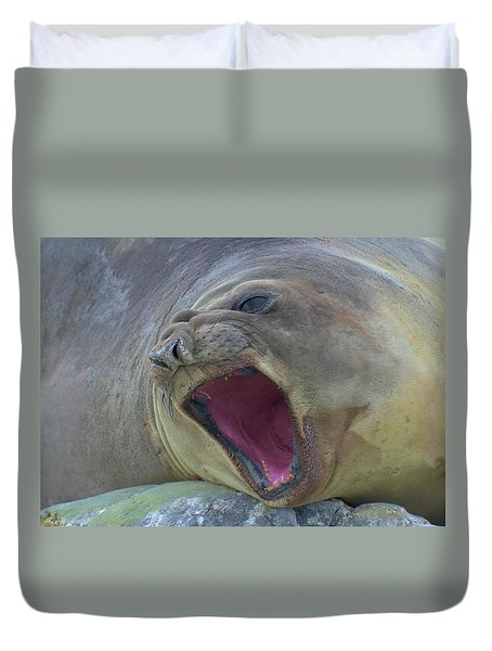 An Elephant's Roar Duvet Cover