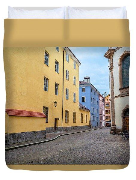 An Innsbruck Street Duvet Cover