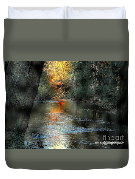And Autumn Comes  Duvet Cover