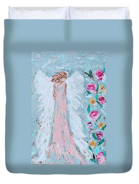 Angel For Childbirth And Duvet Cover