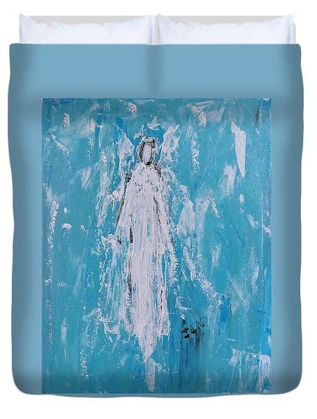 Angel For Grievance Duvet Cover