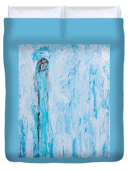 Angel Of Dreams And Hope Duvet Cover