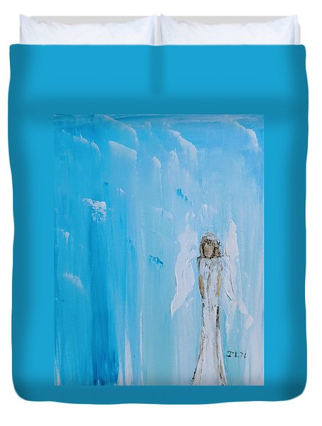 Angel Of Simplicity Duvet Cover