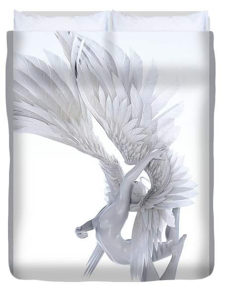 Angelic Arch Duvet Cover