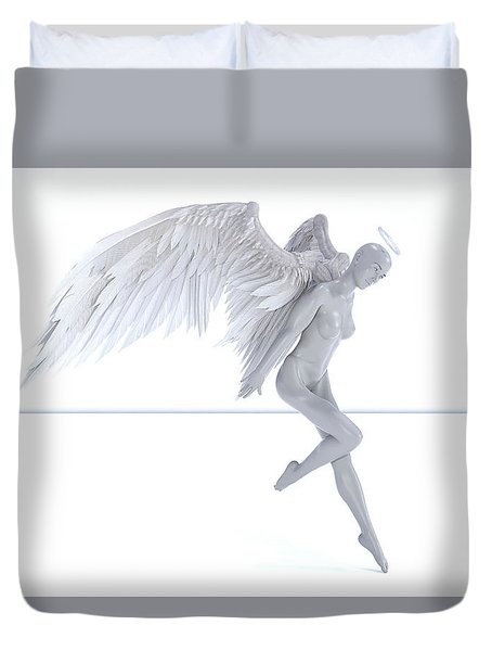 Angelic Touch Duvet Cover