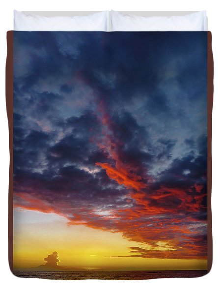 Another Colorful Sky Duvet Cover
