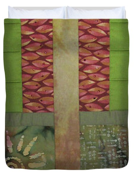 Another Fragment Of The Frontier Of Beauty Duvet Cover
