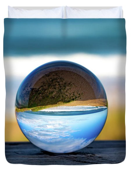 Another Look Through The Lens Duvet Cover