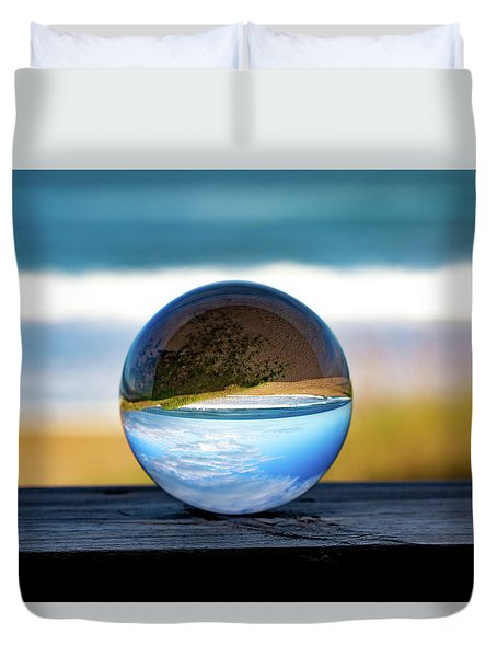 Duvet Cover featuring the photograph Another Look Through The Lens by Lora J Wilson