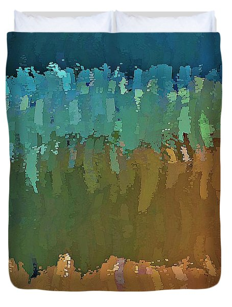 Another Painted Desert Duvet Cover