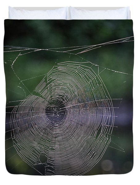 Another Web Duvet Cover