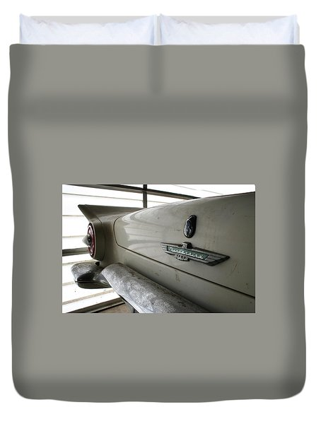 Antique Classic Car Duvet Cover