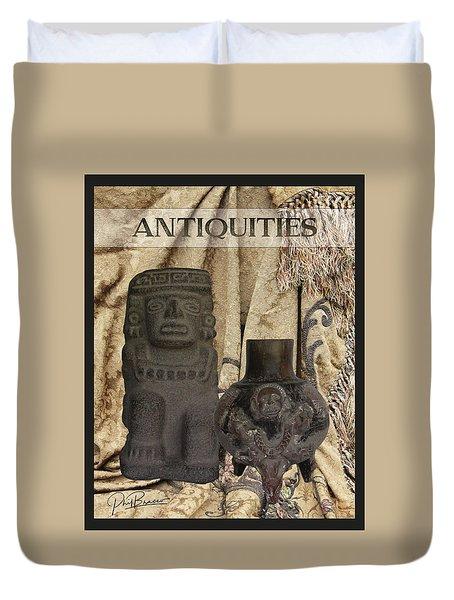 Antiquities Duvet Cover