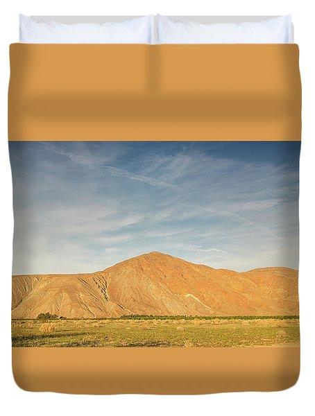 Anza Borrego Sunset Duvet Cover