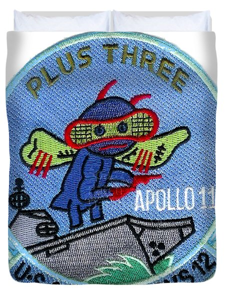 Apollo 11 Recovery Plus Three Duvet Cover