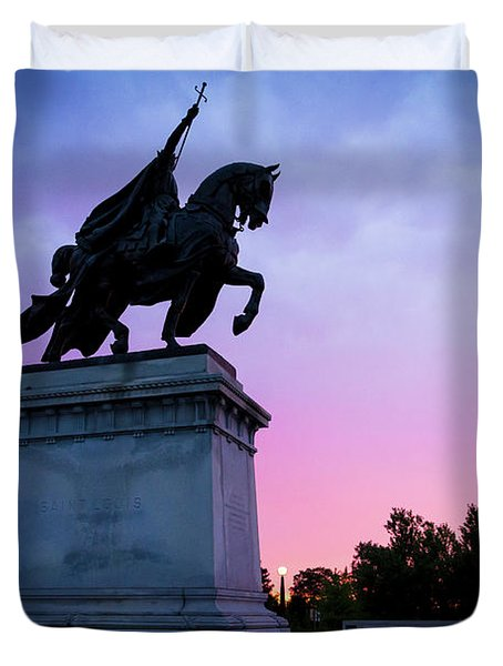 Apotheosis Of St. Louis, King Of France Duvet Cover
