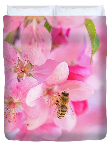 Apple Blossom 2 Duvet Cover