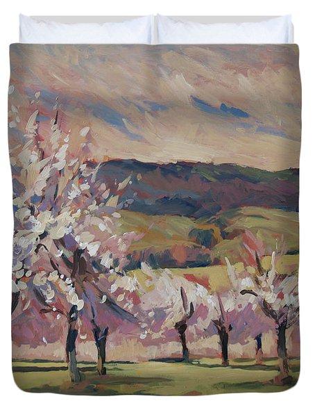 Apple Blossom Geuldal Duvet Cover