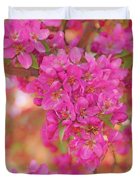 Apple Blossoms A Duvet Cover