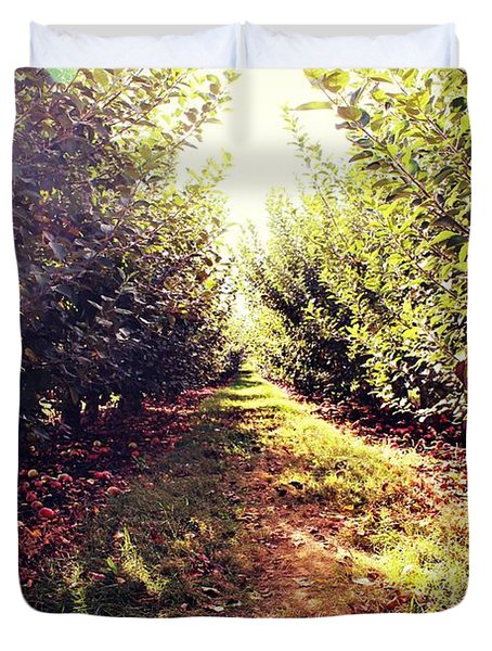 Apple Orchard Duvet Cover