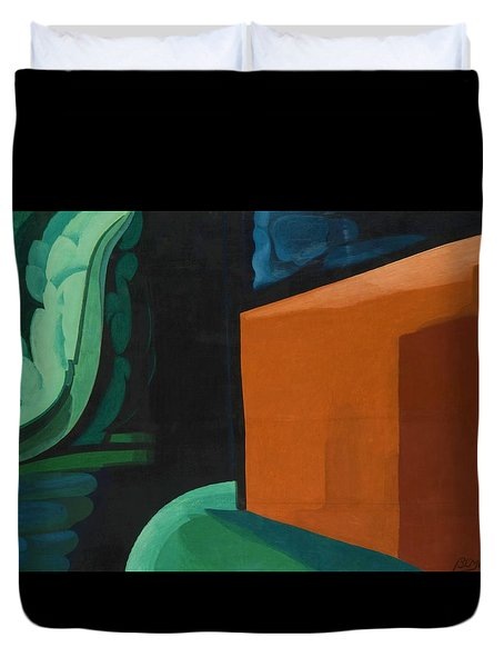 Approaching Black - Digital Remastered Edition Duvet Cover