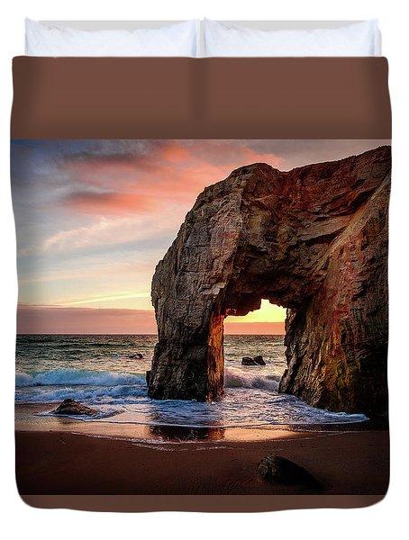 Arche De Port Blanc Duvet Cover