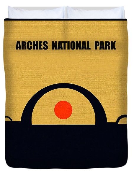 Arches N.p. M Series Duvet Cover
