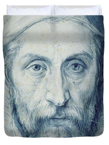 Arcimboldo Self Portrait Duvet Cover