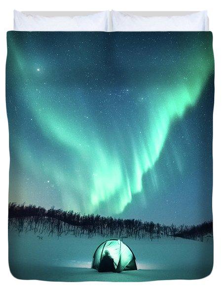 Arctic Camping Duvet Cover