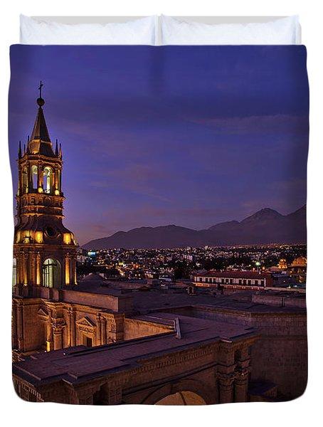 Arequipa Is Peru Best Kept Travel Secret Duvet Cover