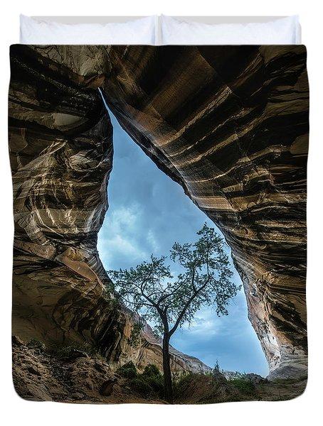 Arizona Cave Duvet Cover