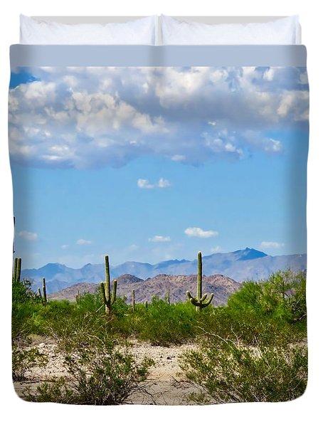 Arizona Desert Hidden Valley Duvet Cover