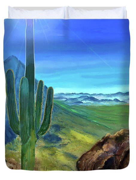 Arizona Heat Duvet Cover