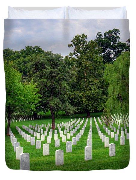 Arlington National Cemetery Duvet Cover