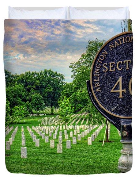 Arlington National Cemtery Duvet Cover