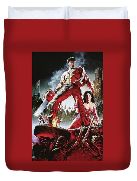 Army Of Darkness Duvet Cover