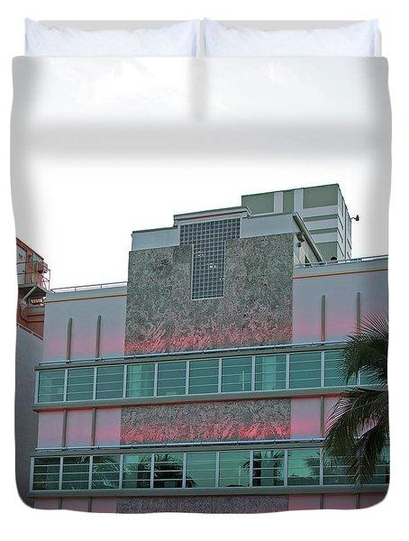Art Deco - South Beach - Miami Beach Duvet Cover
