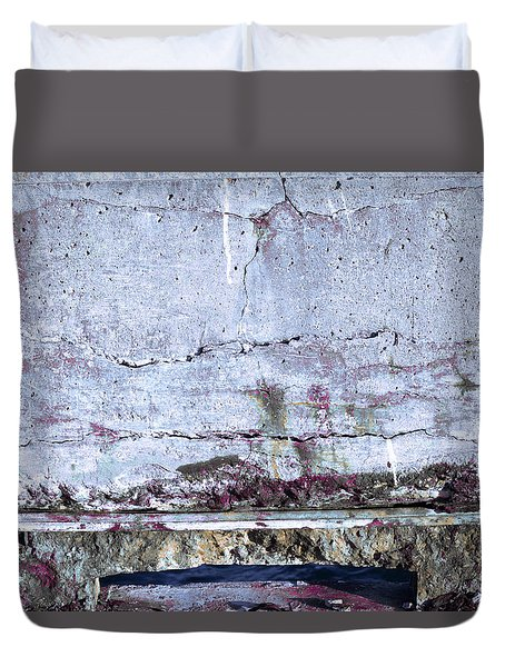 Duvet Cover featuring the photograph Art Print Whites 31 by Harry Gruenert