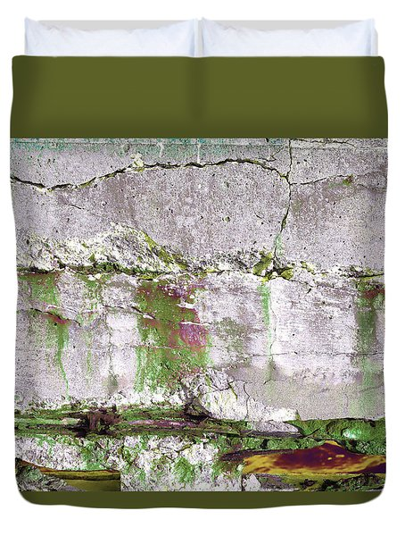 Duvet Cover featuring the photograph Art Print Whites 32 by Harry Gruenert