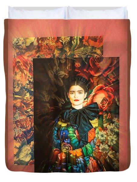 Artistic Frida Kahlo Stream  Duvet Cover