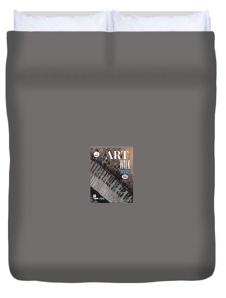 Artwalk Art Show Scottsdale  Duvet Cover
