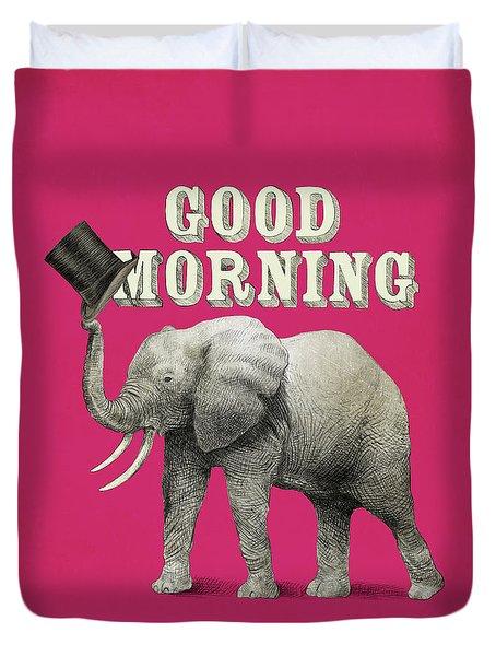 Good Morning Duvet Cover