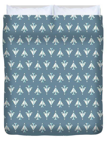 English Electric Lightning Fighter Jet Aircraft - Slate Duvet Cover
