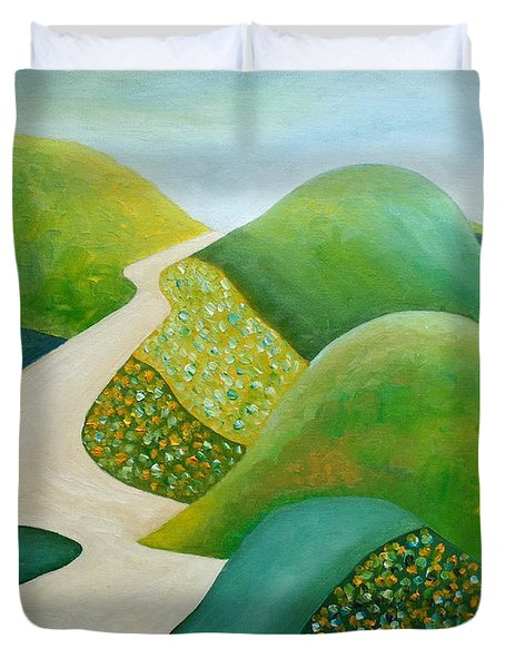 Stilling Hills Duvet Cover