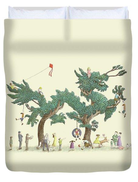 The Dragon Tree Duvet Cover