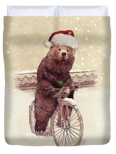 A Barnabus Christmas Duvet Cover