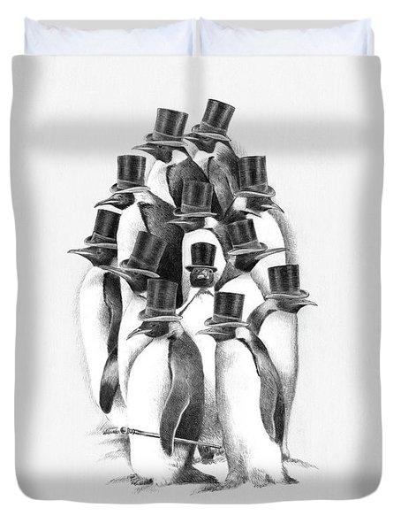 Penguin Party Duvet Cover