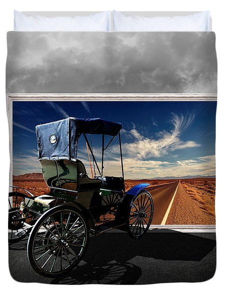 Let's Go On A Colorful Adventure Duvet Cover