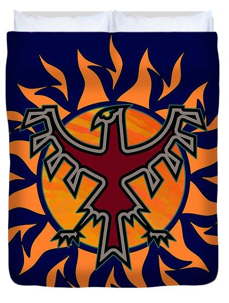 Thunderbird Sun Duvet Cover