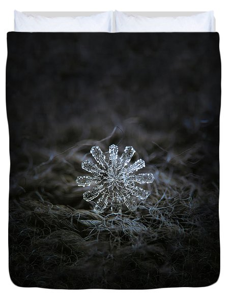 December 18 2015 - Snowflake 3 Duvet Cover